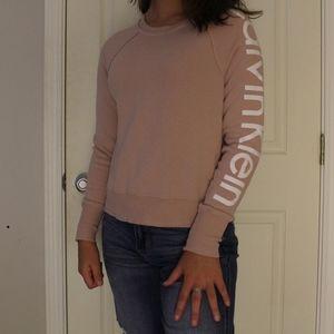 Pink Calvin Klein Crewneck